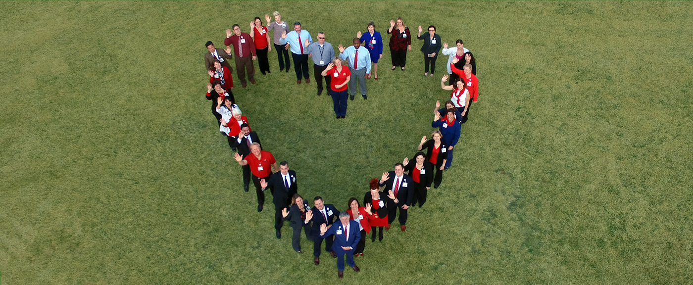 Southwest Leadership Team Heart shape