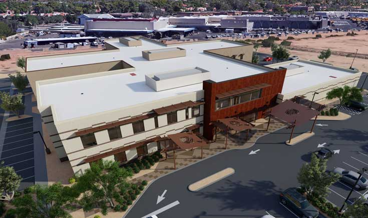 UHS Honor Health new facility rendering