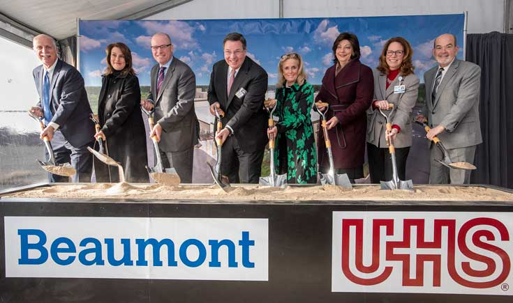 UHS Beaumont groundbreaking