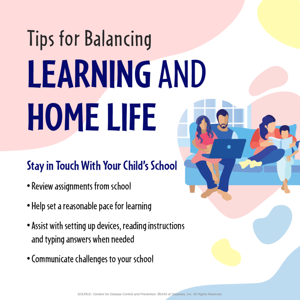 Work/Life balance: stay in touch with your child's school