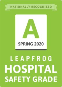 Leapfrog Spring 2020 Hospital Safety Grade