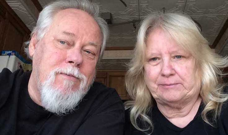 Tom and Laurie James