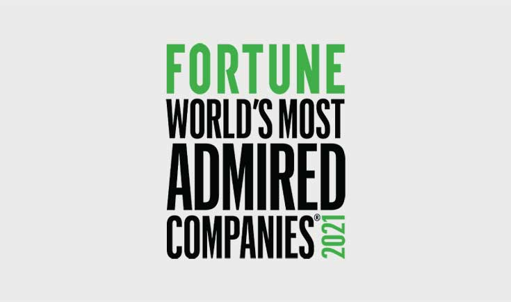 Fortune Worlds Most Admired Companies 2021
