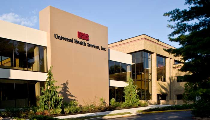 UHS Corporate facility exterior